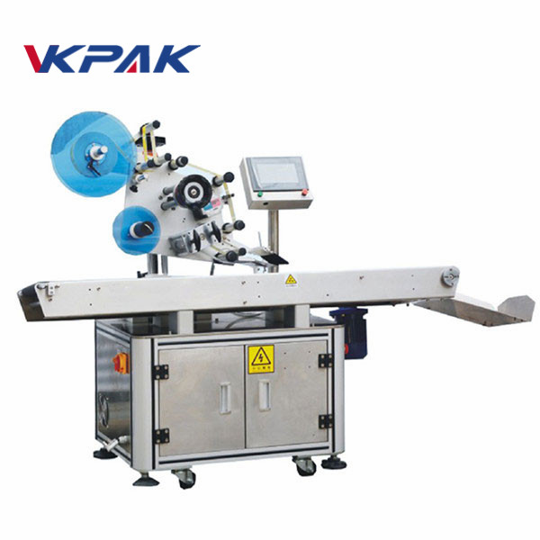 Servo Motor Touch Screen Flat Cup Cover Labeling Machine